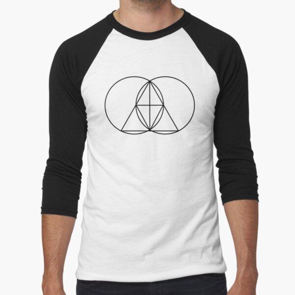 Glitch Mob Symbol Baseball ¾ Sleeve T-Shirt