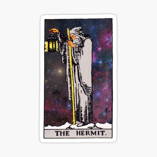 The Hermit. Sticker