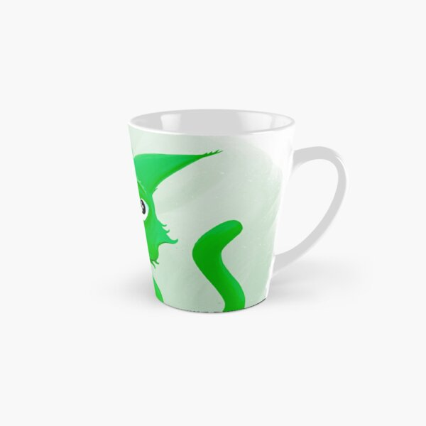 Kyrai the green cat Tall Mug