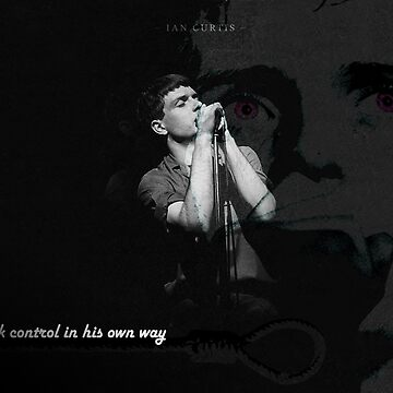 Ian Curtis by bowkersb
