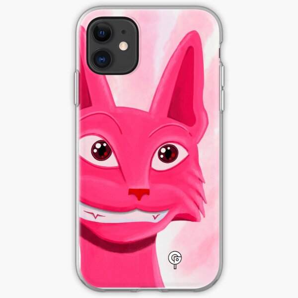 Lollipop the pinky cat iPhone Soft Case