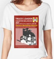 Workshop Manual - Truck Loader CB AGV - BW Women's Relaxed Fit T-Shirt