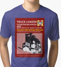 Workshop Manual - Truck Loader CB AGV - BW Tri-blend T-Shirt