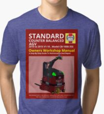 Workshop Manual - Standard CB AGV - Colour Tri-blend T-Shirt