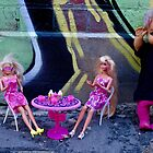Brunching Barbies with Shadow Doll by jlara