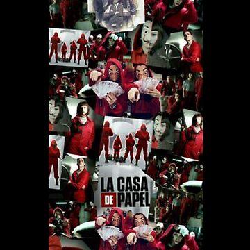 La Casa de Papel Collage by comunicator