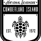 Cumberland Island National Seashore Abzeichen Design von nationalparks