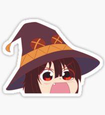 *Angry Explosions Noises* Konosuba Megumin Sticker Sticker