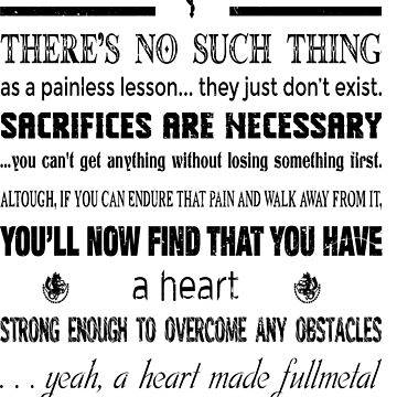 Fullmetal Alchemist Brotherhood last Edward Elric Quote by SenxCreations