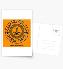 Postales Percy Jackson - Campo Mestizo - Cabina Tres - Poseidón
