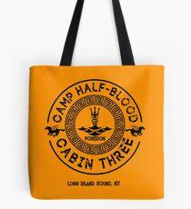 Bolsa de tela Percy Jackson - Campo Mestizo - Cabina Tres - Poseidón