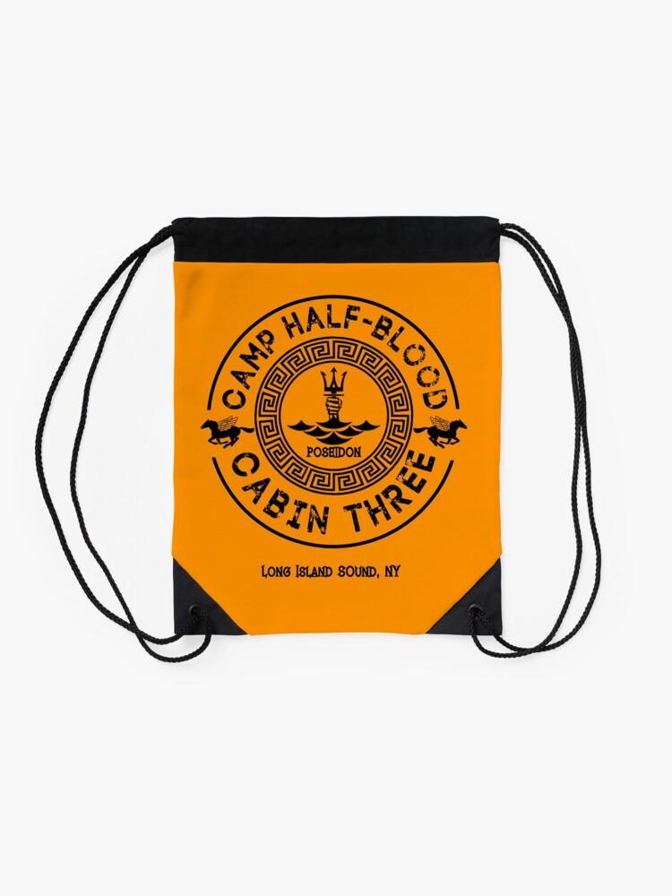 Alternate view of Percy Jackson - Camp Half-Blood - Cabin Three - Poseidon Drawstring Bag