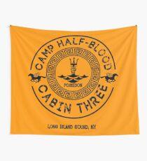 Percy Jackson - Camp Half-Blood - Cabin Three - Poseidon Wall Tapestry