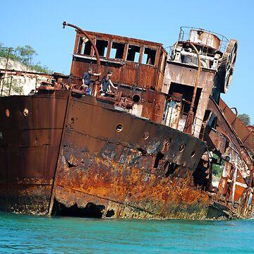 The Wrecks - Moreton Island by buzzword