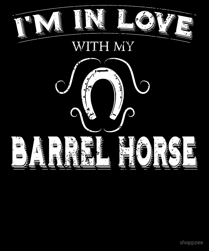 My Anti Valentine Love Barrel Horse by shoppzee