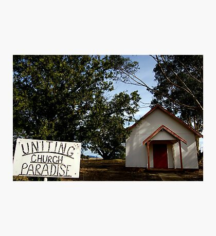Uniting Church, Paradise Photographic Print