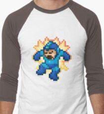 Megaman Damage Men's Baseball ¾ T-Shirt