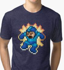 Megaman Damage Tri-blend T-Shirt
