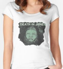 death in june Women's Fitted Scoop T-Shirt
