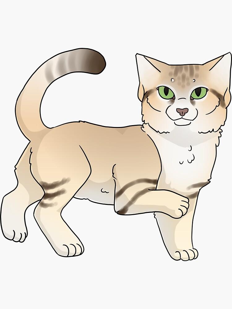 Sand Cat  by starryfluffy