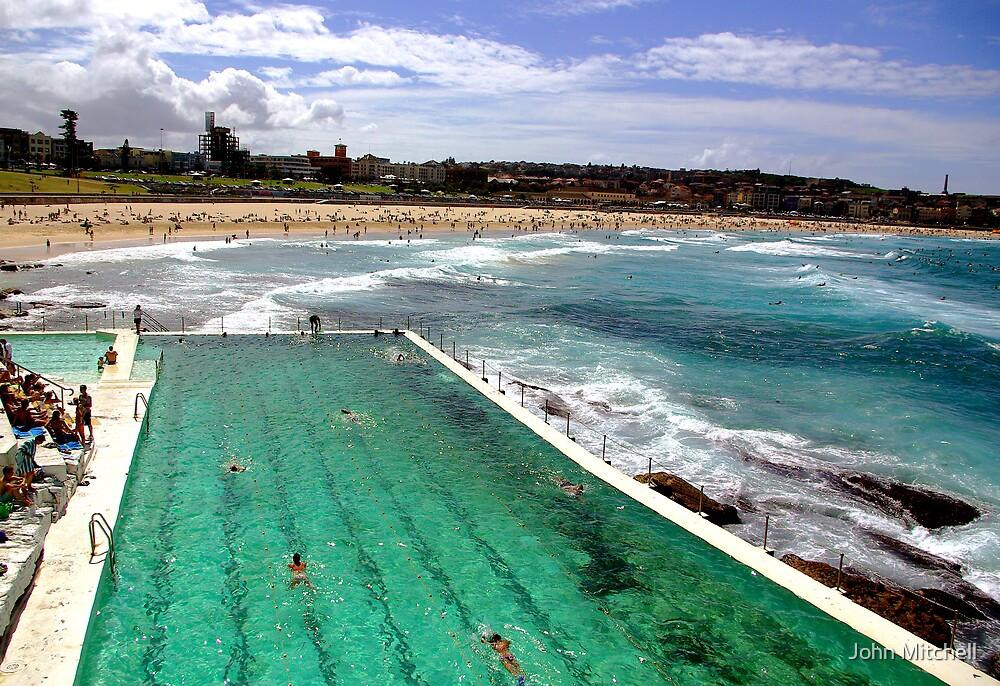 Bondi Beach, Sydney. by John Mitchell