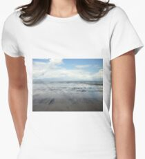 East Coast Seascape Women's Fitted T-Shirt