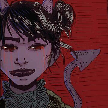 Chica Demonio by Quinjao