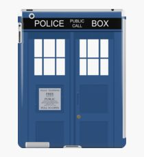 Dr Who T.A.R.D.I.S  iPad Case/Skin