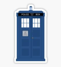 Dr Who T.A.R.D.I.S  Sticker