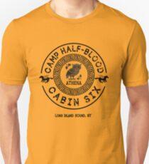 Camiseta unisex Cabina Seis - Athena - Percy Jackson - Campo Mestizo -