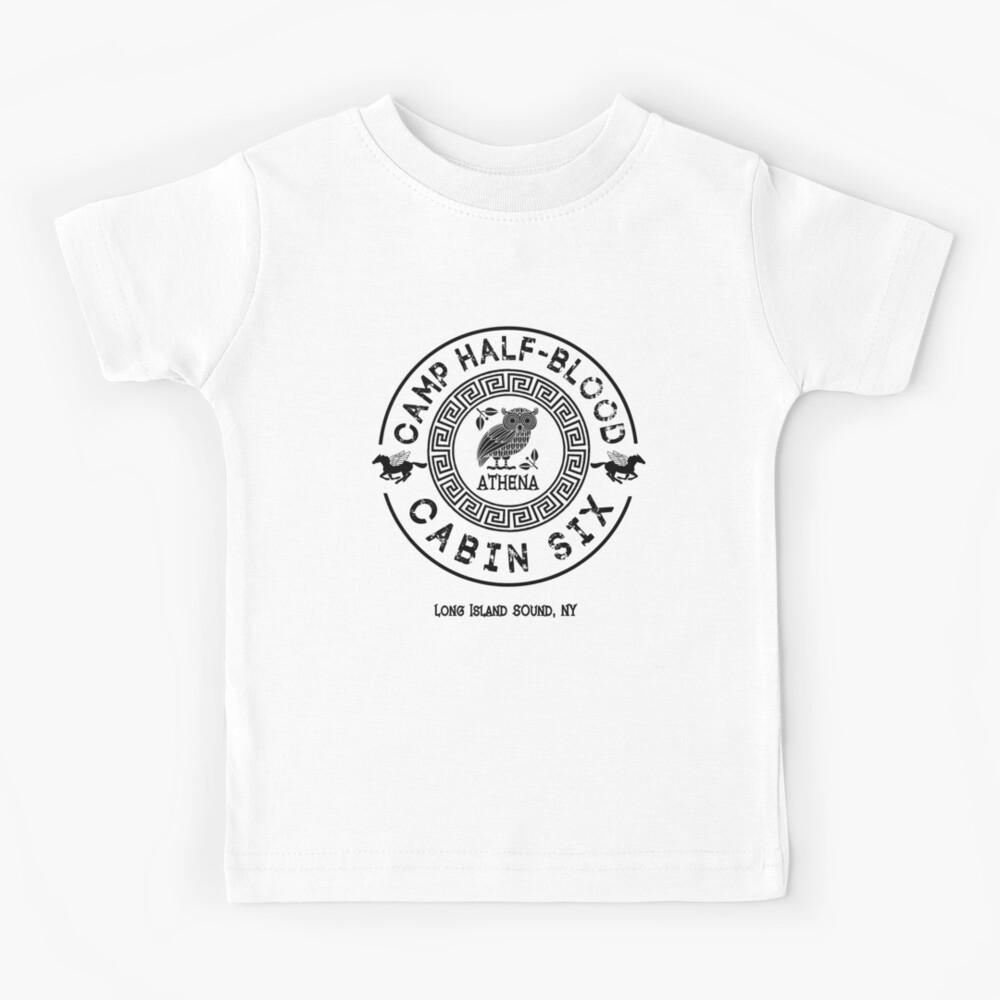 Cabin Six - Athena - Percy Jackson - Camp Half-Blood -  Kids T-Shirt