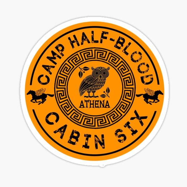 Cabin Six - Athena - Percy Jackson - Camp Half-Blood -  Sticker