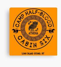Cabin Six - Athena - Percy Jackson - Camp Half-Blood -  Canvas Print