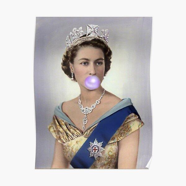 Queen Elizabeth II GUM Poster