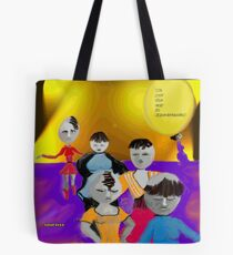 Eggs-istential Tote Bag