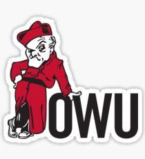 Ohio Wesleyan University Sticker