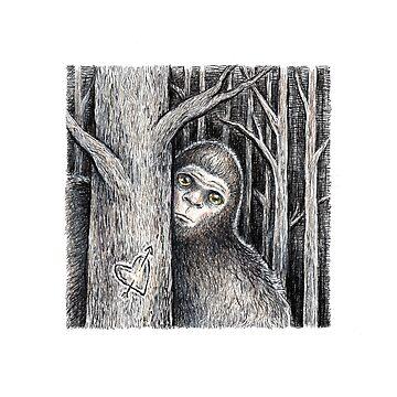 Tree Peeker  by brettisagirl