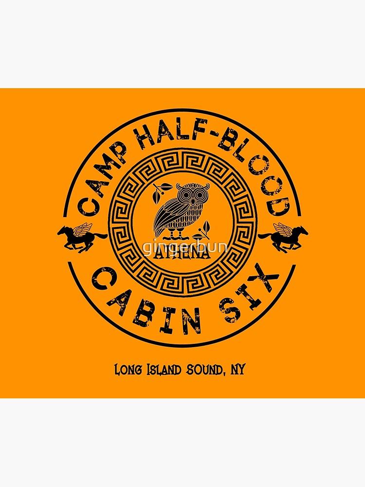 Cabin Six - Athena - Percy Jackson - Camp Half-Blood -  by gingerbun