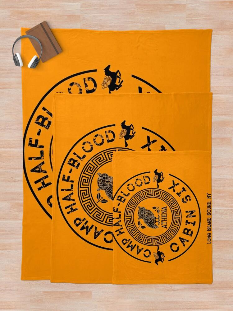 Alternate view of Cabin Six - Athena - Percy Jackson - Camp Half-Blood -  Throw Blanket