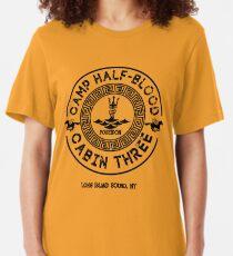 Percy Jackson - Camp Half-Blood - Cabin Three - Poseidon Slim Fit T-Shirt
