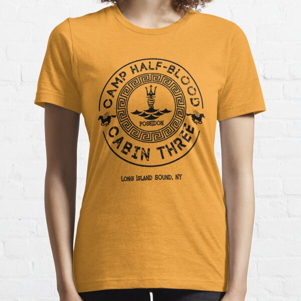 Percy Jackson - Camp Halbblut - Hütte Drei - Poseidon Essential T-Shirt