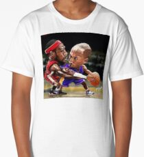 Kobe VS LBJ Long T-Shirt