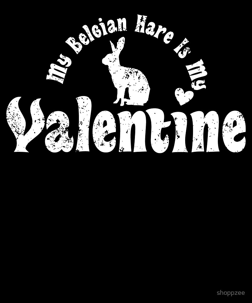 My Anti Valentine Pet Belgian Hare by shoppzee