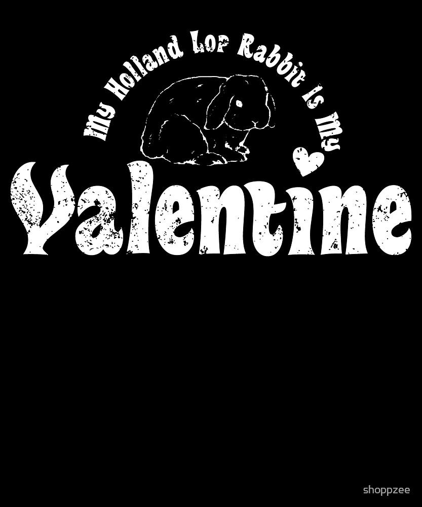 My Anti Valentine Pet Holland Lop Rabbit by shoppzee