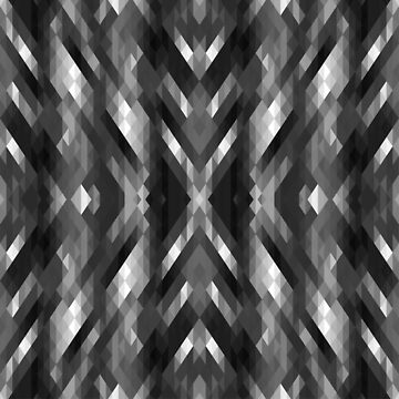 Abstract Gray, Black and White by DonnaSiggy