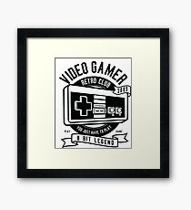 Video game Framed Print