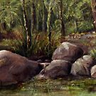 The Creek Near Marlee by picketty