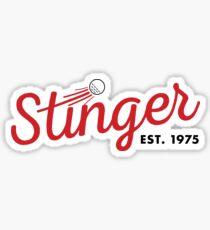Tiger Woods Stinger Sticker