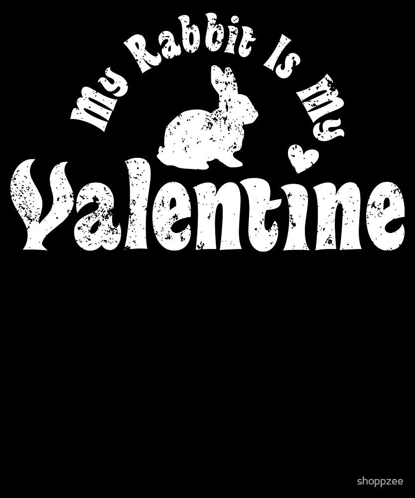 My Anti Valentine Pet Rabbit Zoology Zoologist by shoppzee