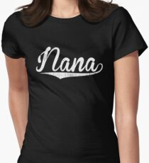 Nana Happy Birthday Grandma Gifts Shirt Womens Fitted T